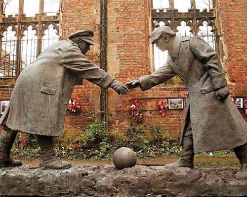 La tregua de la Navidad en la Primera Guerra Mundial