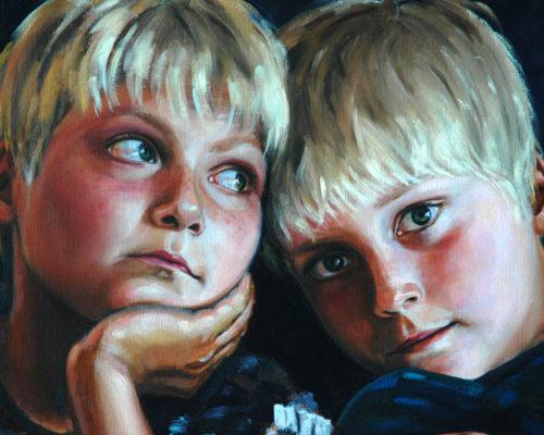 Dos niños inteligentes, de Pedro Pablo Sacristán