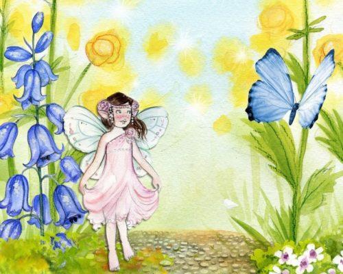A una mariposa, de Vicenta Castro Cambón