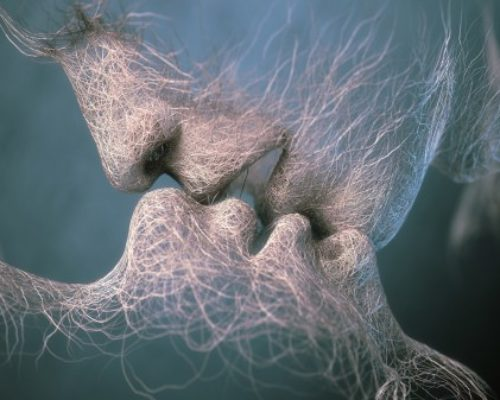Besos, de Gabriela Mistral
